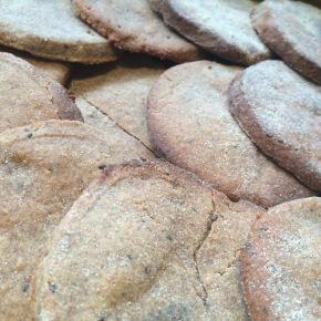 Vegan Cinnamon Biscuits